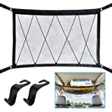 WARMQ Ceiling Cargo Net Pocket Car Roof Long Trip Storage Bag Tent Putting Quilt Children's Toy Towel Sundries Interior Acces