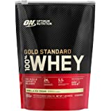 OPTIMUM NUTRITION sports nutrition whey protein powders, Vanilla Ice Cream, 1 Pound
