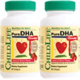 Child Life Pure DHA Dietary Supplement, 90 Count (Pack of 2)