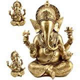 Bellaa Big Lord Ganesha Beautiful Statues Hindu Altar Puja Aarti