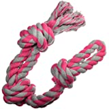 Dog Toys for Aggressive Chewers - 1 Nearly Indestructible Dog Toy - Large Dog Toys - Durable Heavy Duty Dog Toys - Dog Chew T