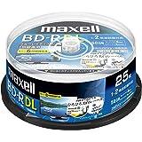 maxell 録画用BD-R DL 2層 1回録画用 地上デジタル360分 BSデジタル260分 2倍速対応 IJP対応…