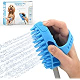 Aquapaw Pro Pet Bathing Tool – Sprayer and Scrubber in One – for Grooming Dogs and Cats – Indoor/Outdoor Use – Includes Adapt
