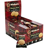 Walkers Shortbread Gluten-Free Pure Butter Shortbread Rounds Snack Packs, 1 Ounce (Box of 24)