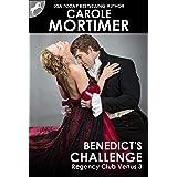 Benedict's Challenge (Regency Club Venus 3)