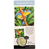 Dimensions Arts and Crafts Frog Latch Hook Kit, 12''L x 12''H