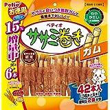 ペティオ (Petio) 犬用おやつ ササミ巻き ガム 42本入