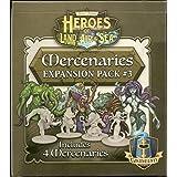 Gamelyn Games Heroes of Land, Air and Sea, Mercenary Pack 3