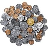 ラーニングリソーシズ アメリカ通貨 コインセット 96枚入り LER0101-B 正規品