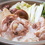 水郷のとりやさん 国産鶏肉 博多風 水郷どり 水炊き 鍋セット (4~5人前) 野菜付き 冷蔵限定