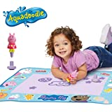 Aquadoodle Peppa Pig Water Doodle Mat, Official Tomy No Mess Colouring & Drawing Game, Suitable for Toddlers and Children - B