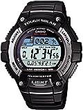 [カシオ] 腕時計 スタンダード ソーラー W-S220-1AJF ブラック