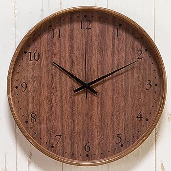 PUZZLE 掛時計 YK10-102-2 ウォールナット デザインクロック ヤマト工芸 パズル インテリアクロック 木製 掛け時計 電波時計