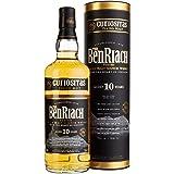 BenRiach Curiositas 10 Year Old Peated Single Malt Scotch Whiskey, 700 ml