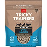 Cloud Star Tricky Trainers Crunchy, Low Calorie Training Dog Treats, Made In the USA, Wheat & Corn Free, 8oz Salmon