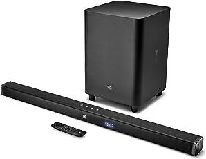 JBL BAR 3.1 センターチャンネル搭載 3.1chホームシアターシステム 4K Ultra-HD/Bluetooth対応 ブラック JBLBAR31BLKJN 【国内正規品/メーカー1年保証付き】