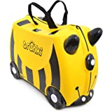 Trunki Children's Ride-On Suitcase & Hand Luggage, Bernard Bee, Yellow