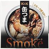 K&K 缶つまスモーク かき 50g