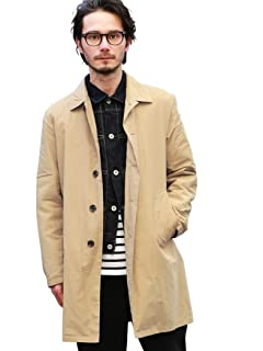 Pocketable Nylon Balmacaan Coat 3225-139-2296: Beige