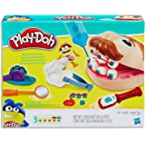 Play-Doh - Doctor Drill 'n Fill Set - including 5 Tubs of Non-Toxic PlayDoh Dough & Accessories - Sensory Toys for Kids - Gir