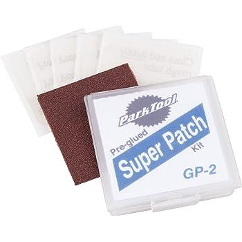 パークツール(ParkTool) スーパーパッチ パンク修理用パッチ 6枚入 紙ヤスリ付 GP-2C