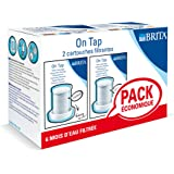 Brita On Tap L12502 Cartridges for Tap Filter Set of 2 White or Chromium