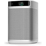 XGIMI Mogo Pro, Mini Portable Projector Smart, True 1080P Full HD, 300 ANSI Lumen, Android TV 9.0, Harman/Kardon Speakers, 30