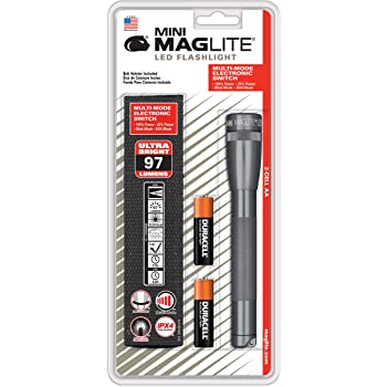 MAG-LITE(マグライト) ミニマグ 3W LED 単3×2本 グレー SP2209H