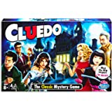 Cluedo Classic Board Game - Original Murder Mystery Strategy Games - 2 to 6 Player - Toys for Kids, family and adult - Ages 8