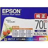 エプソン 純正 インクカートリッジ さくらんぼ IC6CL70L 6色パック 増量