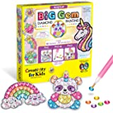 Creativity for Kids 6246000 Big Gem Diamond Painting Kit - Create Your Own Magical Stickers and Suncatchers - Diamond Art for