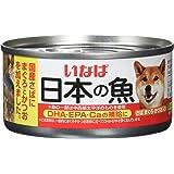 いなば ドッグフード 日本の魚 さば まぐろ・かつお入り 170g×24缶 (まとめ買い)