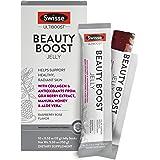 Swisse Ultiboost Beauty Boost Jelly Sticks, Raspberry Rose | Healthy Skin Care Supplement | Marine Collagen, Antioxidants fro