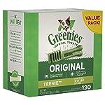 GREENIES Original Teenie Dental Dog Treat, 1kg (130 treats)