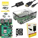 CanaKit Raspberry Pi 4 4GB Basic Starter Kit with Fan (4GB RAM)