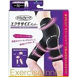 スリムウォーク エクササイズインナー ロングパンツ Mサイズ ブラック(SLIM WALK,exercise pants,M)