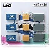 Mr. Pen- Erasers, Art Eraser, Kneaded Eraser, Pencil Erasers, Gum Eraser, Drawing Supplies, White Eraser, Kneaded Erasers for