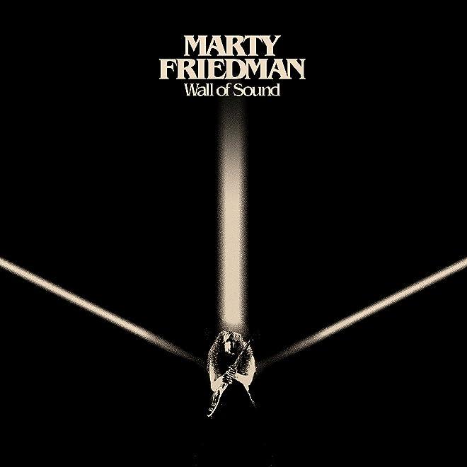 マーティ・フリードマン『ウォール・オブ・サウンド』【CD(日本盤限定ボーナストラック2曲収録/日本語解説書封入)】