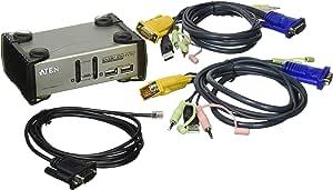 ATEN 2ポート USB KVMP CS-1732A