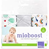 Bambino Mio, mioboost (Nappy boosters), Snail Surprise, 3 Pack