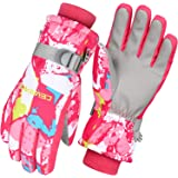 Cevapro スキーグローブ キッズ スノーボード グローブ 子供 スキー手袋 ジュニア 防水 防寒グローブ 3Mシン…