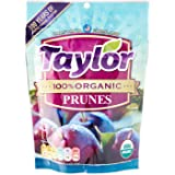 Taylor 100% Organic California Pitted Prunes, 250g