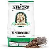 ASMOKE Wood Pellets for Smoker, 100% Pure Food-Grade Applewood Flavor   5LBS Pack of BBQ Cooking Pellets - Real Fruitwood Str