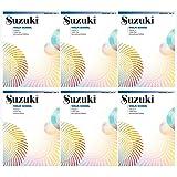NEW SET! Suzuki Violin School Volumes Set (6 Books) - Volume 1, 2, 3, 4, 5, 6