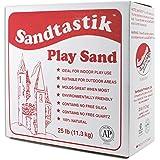 Sandtastik 25.LBBOXREG Play Sand, White 358470 [並行輸入品]