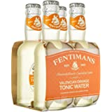 Fentimans Valencian Orange Tonic Water, Botanically Brewed, All Natural Ingredients, 4 Pack, 800 ml, Valencian Orange Tonic W