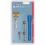 Maglite Mini Incandescent 2-Cell AAA Flashlight, Blue