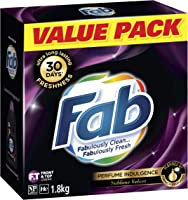 Fab Sublime Velvet Laundry Powder Detergent, 1.8 kilograms