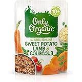 Only Organic Sweet Potato & Lamb Couscous 10+ Months - 170g