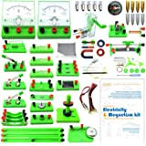 EUDAX School Physics Labs Basic Electricity Discovery Circuit and Magnetism Experiment kits for High School Students Electrom